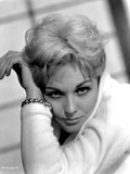 Kim Novak in White Sweater Portrait Photo by  Movie Star News