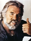 Kenny Rogers smiling Close Up Portrait Photographie par  Movie Star News