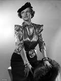 Irene Castle wearing a Silk Blouse with Hat Photo by  Movie Star News