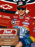 Jeff Gordon Posed in Black Ball cap and Red Overalls Photo af Movie Star News