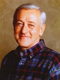 John Mahoney smiling in Portrait Photo by  Movie Star News
