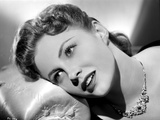 Joan Leslie on a Necklace Lying and posed Photo by  Movie Star News