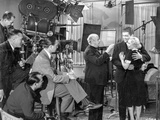 On the set of Waterfront. Photo by  Movie Star News
