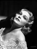 Madeleine Carroll Posed in White Elegant Dress Photo by  Movie Star News