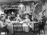 National Velvet Family Having Conversation at Dining Table Photo by  Movie Star News