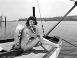 Mary Martin on a Silk Swimsuit Portrait Photo av  Movie Star News