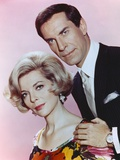 Martin Landau with Woman Portrait Photo by  Movie Star News