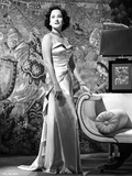 Merle Oberon Posed a Silk Gown Photo by  Movie Star News