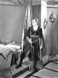 John Barrymore standing Inside the Bed Room in a Classic Movie Scene Photo by  Movie Star News