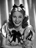 Martha Raye wearing Stripe Puff Sleeves and smiling Photo by  Movie Star News