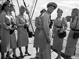 Mister Roberts Group Picture of Sailor in a Boat Photo by  Movie Star News