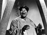 Mahalia Jackson Posed in Classic Photo by  Movie Star News