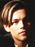 Leonardo Dicaprio Close Up Portrait in Black Background Photo by  Movie Star News