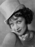 Marlene Dietrich in Black Dress with White Hat Classic Portrait Photo by  Movie Star News