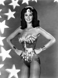 Lynda Carter Posed in Wonder Woman with Hands on Hips Photo by  Movie Star News
