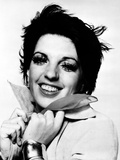 Liza Minnelli smiling in Classic Portrait Photo by  Movie Star News