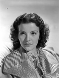 Nanette Fabray on a Big Collar-Top Portrait Photo by  Movie Star News