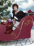 Maureen O'Hara Posed in Christmas Theme Photo by  Movie Star News