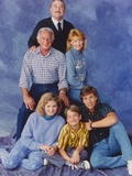 Mister Belvedere Family Picture in Blue Background Photo by  Movie Star News