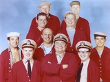McHale's Navy Group Picture in Red Uniform Photo by  Movie Star News