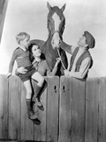 National Velvet Children Looking at Horse Photo by  Movie Star News