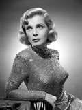 Lizabeth Scott Posed in Sparkling Gown Photo by  Movie Star News