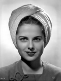 Martha Hyer on Turban Top Photo by  Movie Star News