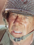 Lee Marvin Close up Portrait With Helmet Photo by  Movie Star News
