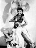 Lena Horne Portrait wearing a White Sheer Silk Photo by  Movie Star News