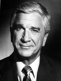 Leslie Nielsen in Black Suit Photo by  Movie Star News