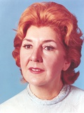 Maureen Stapleton Close-up in Blue Blouse Portrait Photo by  Movie Star News