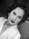 Merle Oberon on a Lace Leaning Photo by  Movie Star News
