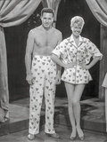 Pajama Game Man and Woman in polka dot Photo by  Movie Star News