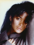 Lisa Bonet Leaning in Close Up Portrait Photo by  Movie Star News