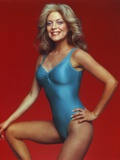Lydia Cornell Posed in Blue Swimsuit Photo by  Movie Star News