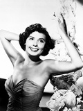 Lena Horne posed with Arms Raised in Black and White Portrait Photo by  Movie Star News