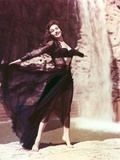 Mara Corday Posed in Black Dress Photo by  Movie Star News