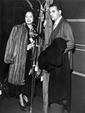 Merle Oberon on a Soft Furry Coat Photo by  Movie Star News
