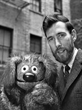 Muppets in Formal Outfit Black and White Photo by  Movie Star News