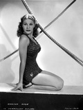 Martha Raye Kneeling and posed Photo by  Movie Star News