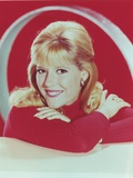 Meredith MacRae Leaning in Sweater Portrait Photo by  Movie Star News