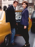 Mary Steenburgen Couple Portrait in a Yellow Car Photo by  Movie Star News