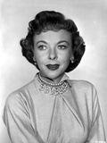 Ida Lupino Posed in Blouse with Necklace Photo by  Movie Star News