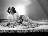 Lupe Velez Lying Pose in Elegant Dress Photo by  Movie Star News