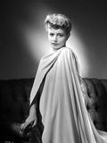 Maria Palmer on a Silk Cloth Photo by  Movie Star News