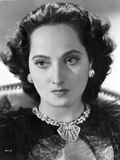 Merle Oberon on Portrait Photo by  Movie Star News
