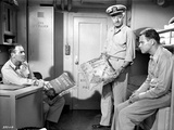 Mister Roberts Sailors Holding Pillow Photo by  Movie Star News