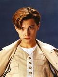 Leonardo Dicaprio Walking wearing Brown Coat Photo by  Movie Star News