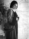 Merle Oberon on a Long Sleeve Coat Photo by  Movie Star News