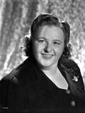 Kate Smith Black and White Close Up Portrait Photo by  Movie Star News